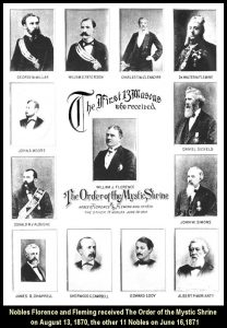 First Thirteen Shriners